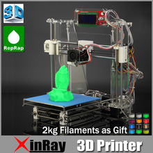 Reprap Prusa I3 3D Printer Injection Molded DIY